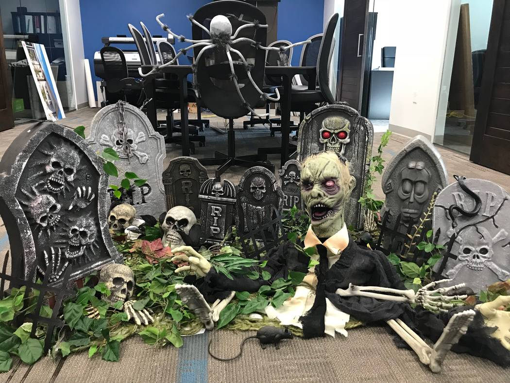 TRU Development went all out for Halloween this year. (TRU Development)