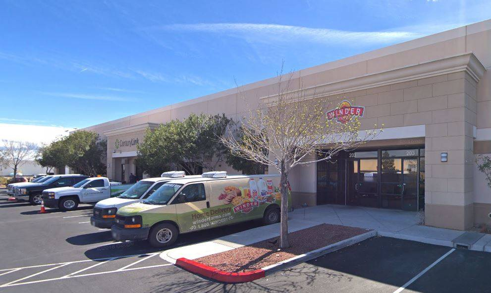 A lease of a 13,293-square-foot industrial space was made to Ice Now NV LLC for $1,308,438.60. (Courtesy)