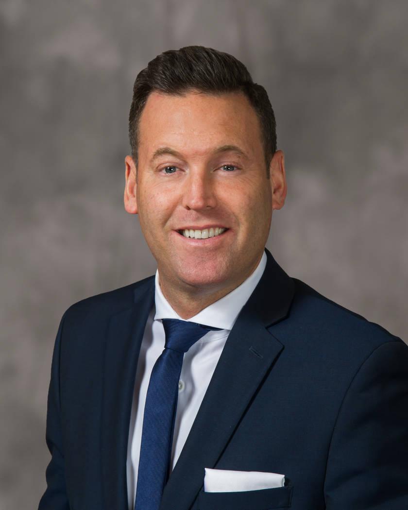 Anthony Olheiser, vice president of food and beverage, SLS Las Vegas