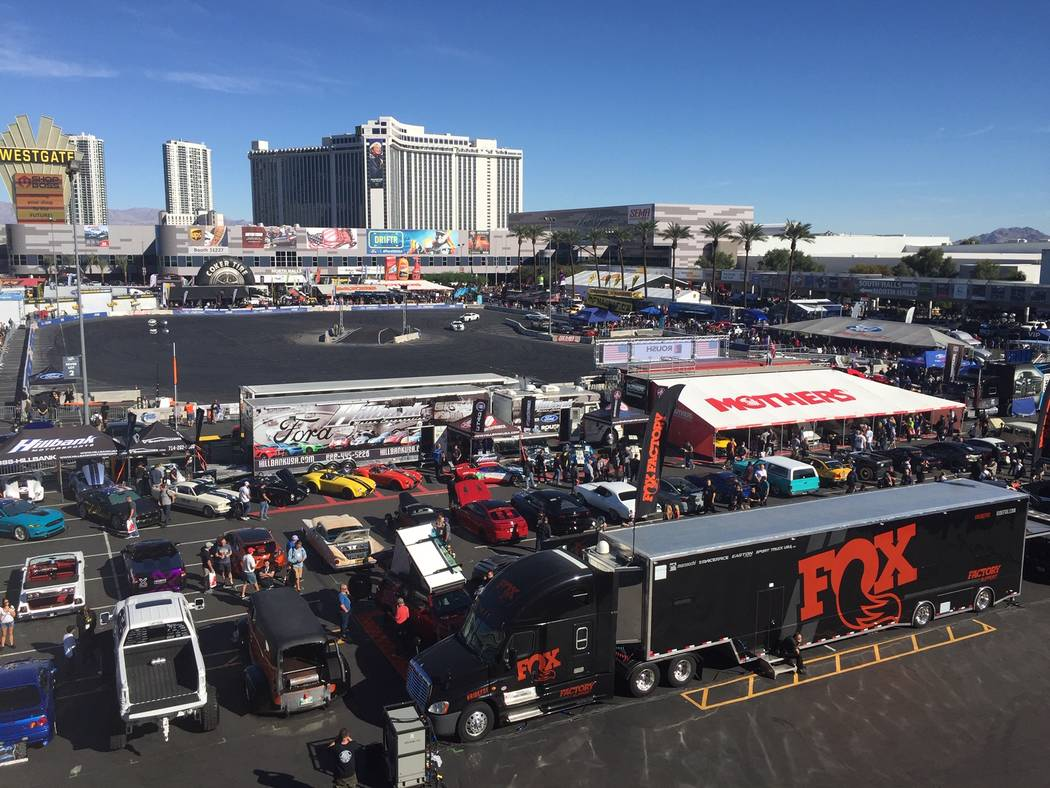 SEMA represented an annual economic impact of $234 million in Las Vegas last year, according to the Las Vegas Convention and Visitors Authority. (Mike Henle Las Vegas Business Press)