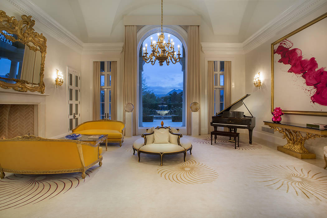 No. 1 1717 Enclave Court in Country Club Hills 2, Summerlin sold for $13M. (Synergy Sothebys)