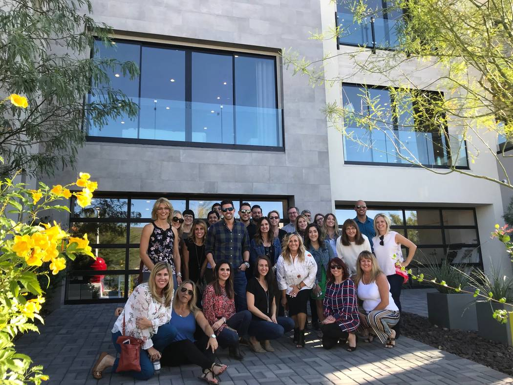 Las Vegas recently hosted more than 30 representatives from homebuilders, interior merchandisers and architects from Southern California and Denver looking at new product from Las Vegas in what wa ...