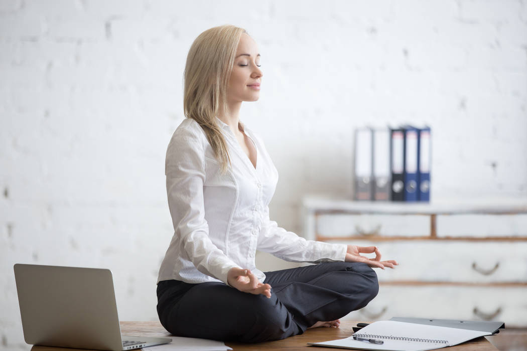 The three-day Lean Startup Conference included morning meditation, talks and walks. (Courtesy)