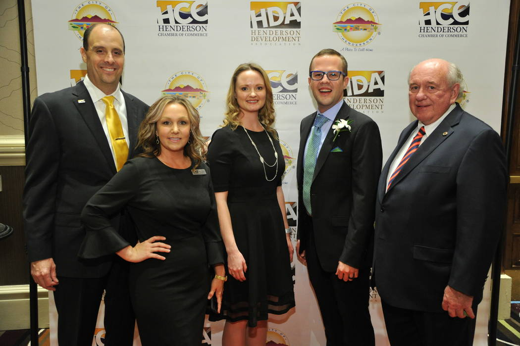 Winners of the Henderson's 19th annual Economic Development & Small Business Awards. (City of Henderson)