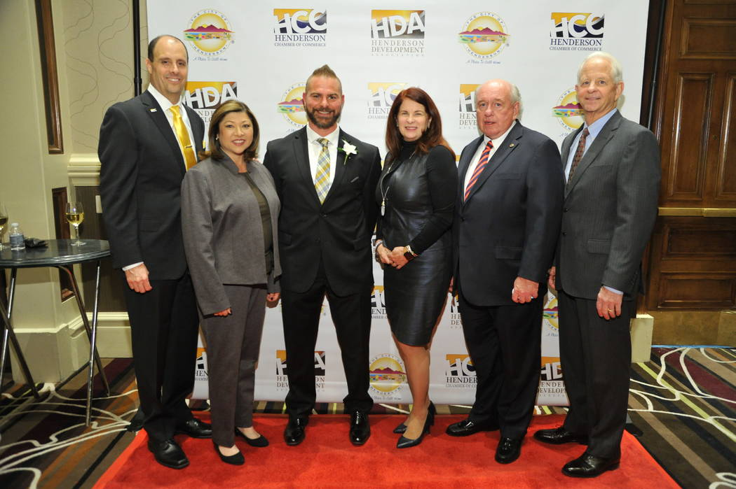 Henderson announced award winners in Economic Development at Henderson's 19th annual Economic Development & Small Business Awards on Nov. 15 at Green Valley Ranch Resort Spa & Casino. (City of H ...