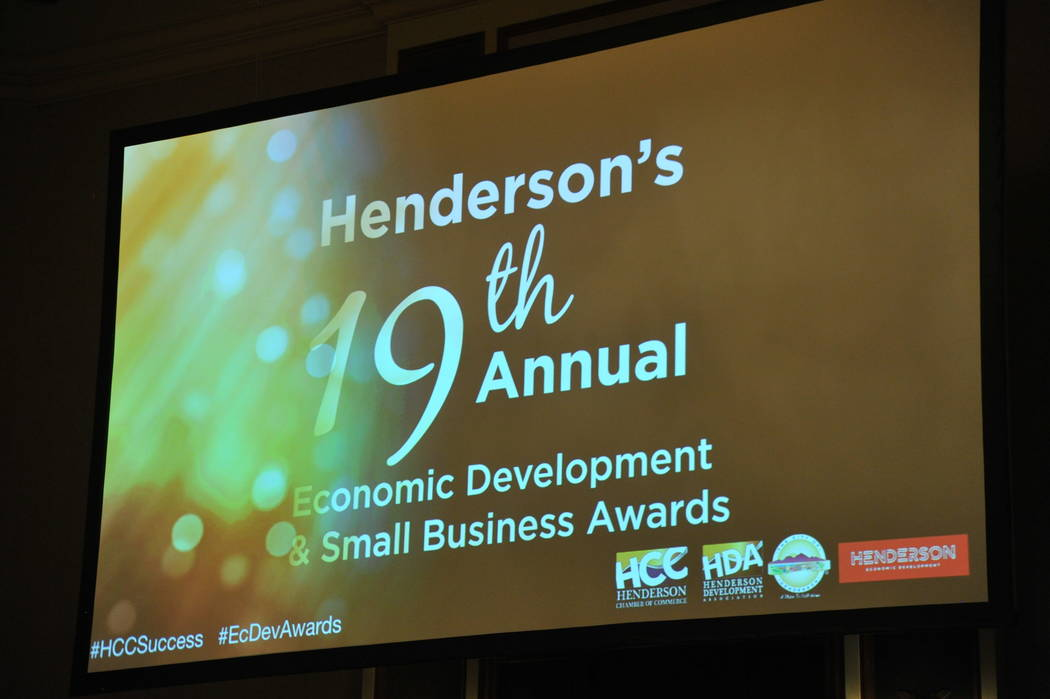 Henderson's 19th annual Economic Development & Small Business Awards was held Nov. 15 at Green Valley Ranch Resort Spa & Casino. (City of Henderson)