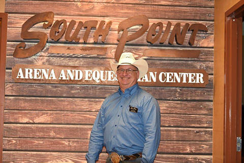 Larry Gimple, event manager, South Point Arena and Equestrian Center