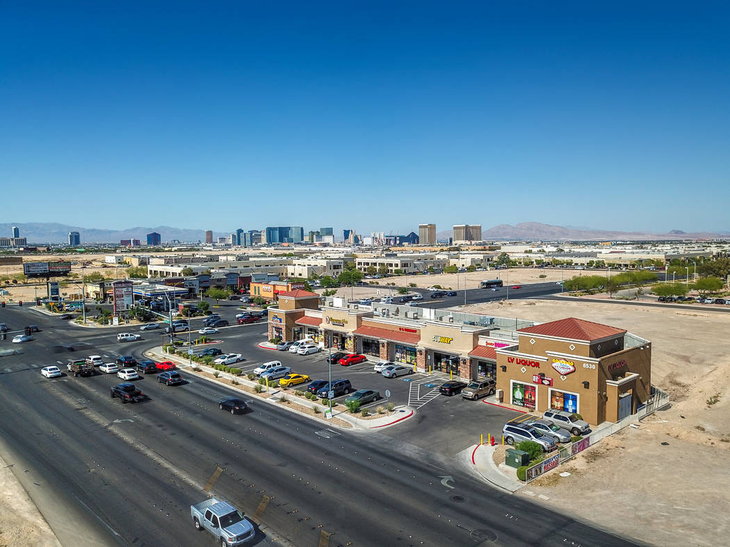 Decatur Sunset Plaza at 6530 S. Decatur Blvd. (177-06-001) sold for $3,750,000, or $384 per square foot.