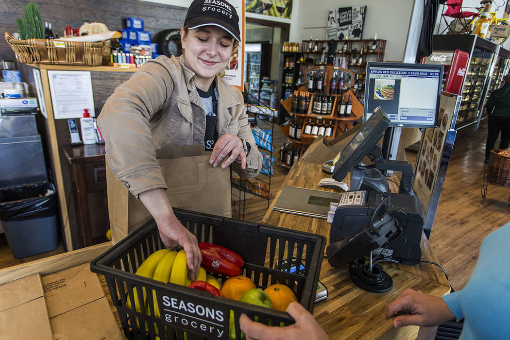 Seasons Grocery offers residents fresh produce, coffee and a deli. (Lake Las Vegas)