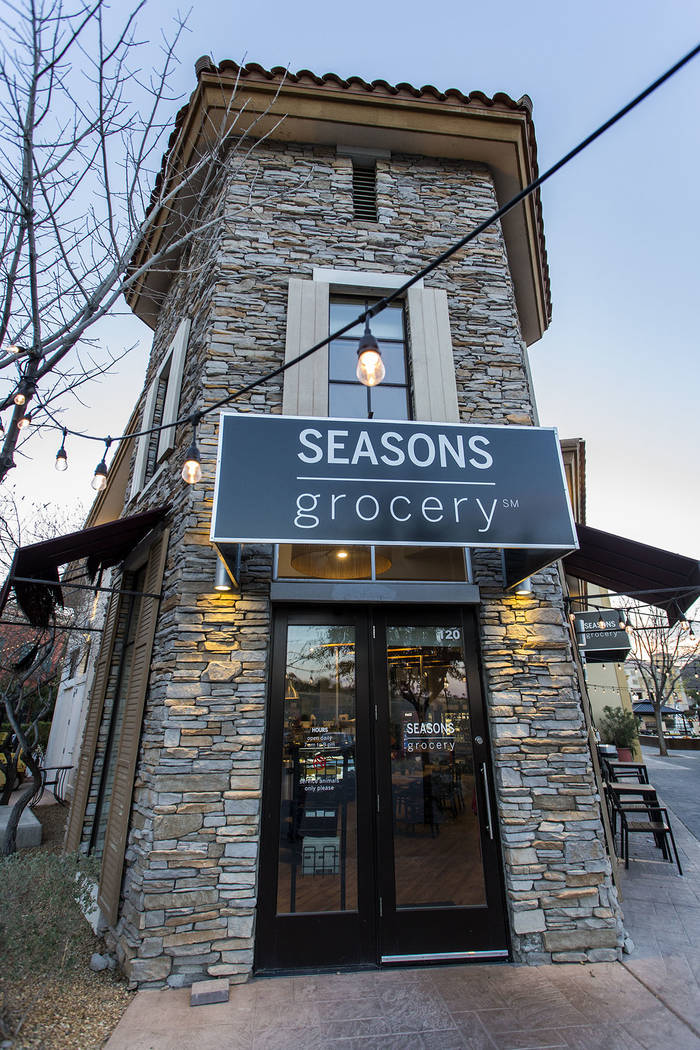 Seasons Grocery opened in Lake Las Vegas Village two years ago. (Lake Las Vegas)