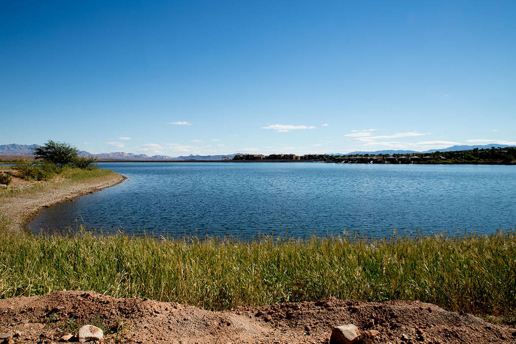 Lake Las Vegas is built around a 320-acre man-made lake. (Tonya Harvey Las Vegas Business Press)