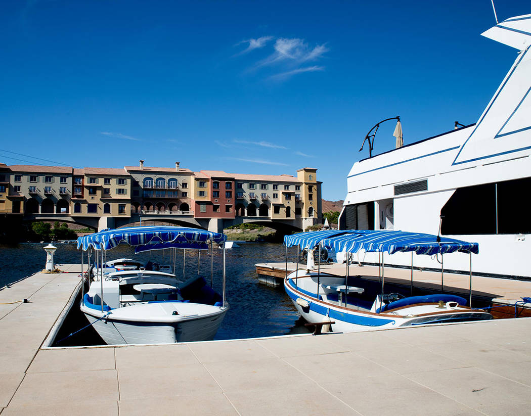 The community's hub is the Village where residents and visitors can rent boats and participate in other watersports.( Tonya Harvey Las Vegas Business Press)