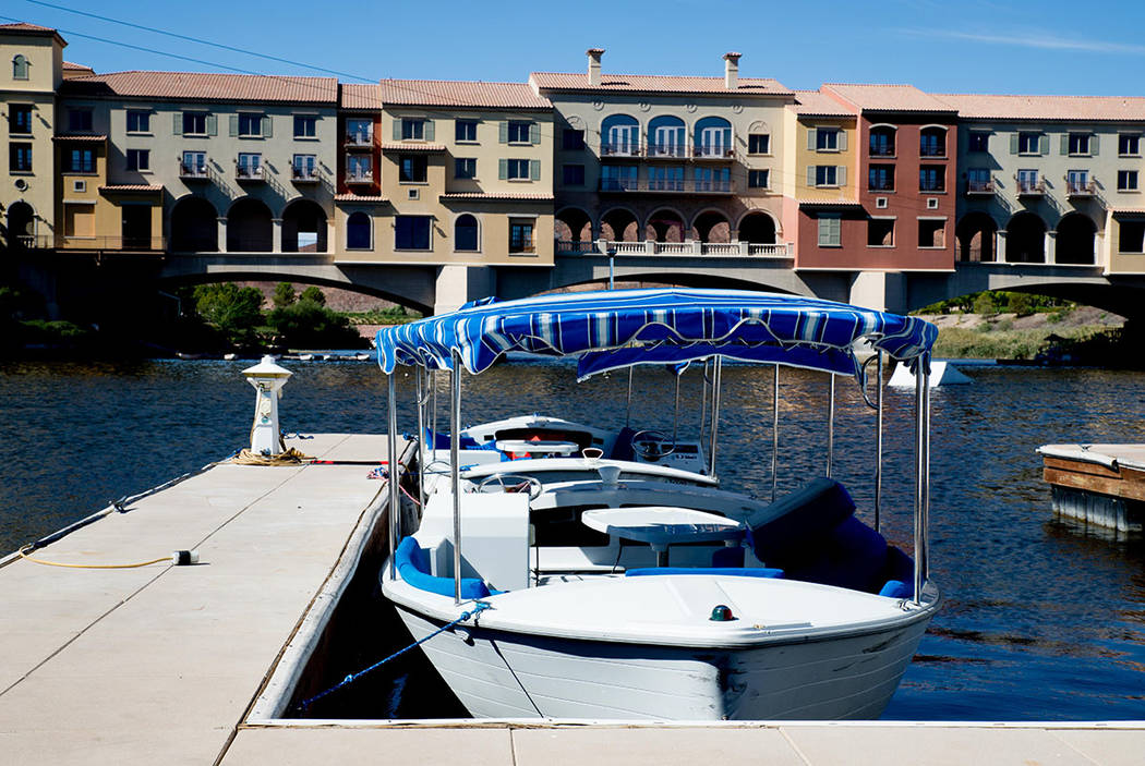 The Village at Lake Las Vegas has recovered since the Great Recession with shops, restaurants and boat rentals. (Tonya Harvey Las Vegas Business Press)