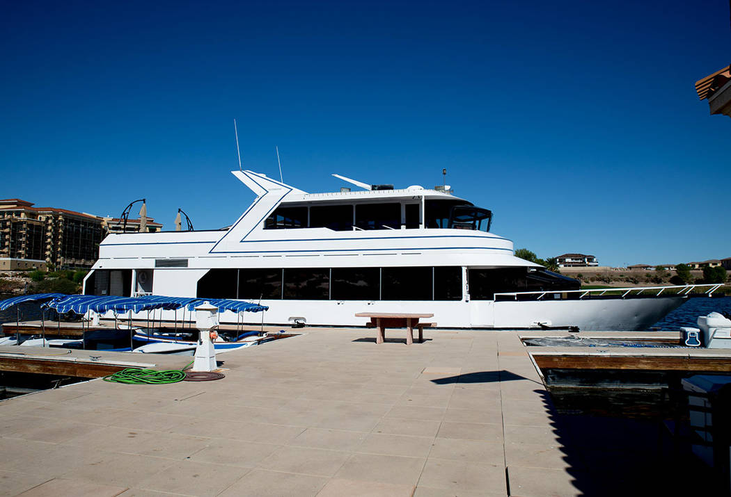 Lake Las Vegas is known for its yacht rides. (Tonya Harvey Las Vegas Business Press)
