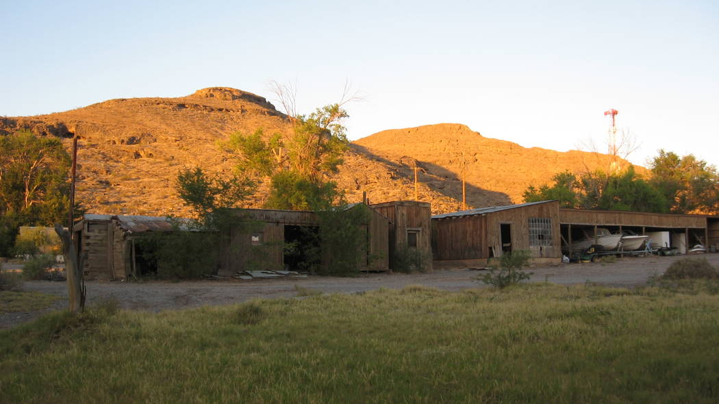 The Indian Springs ranch has a lot of historic buildings. (Las Vegas Land & Water Co.)