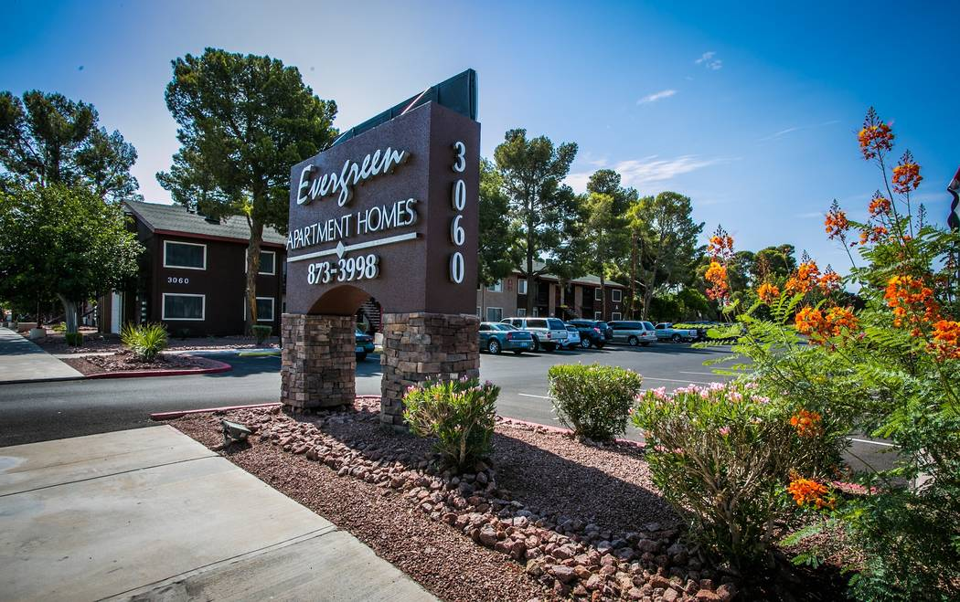 Tower 16 Capital Partners, in a joint venture with Henley USA, has acquired Evergreen Apartments, a 314-unit, multifamily project two miles west of the Las Vegas Strip, for $29.5 million. (Courtesy)