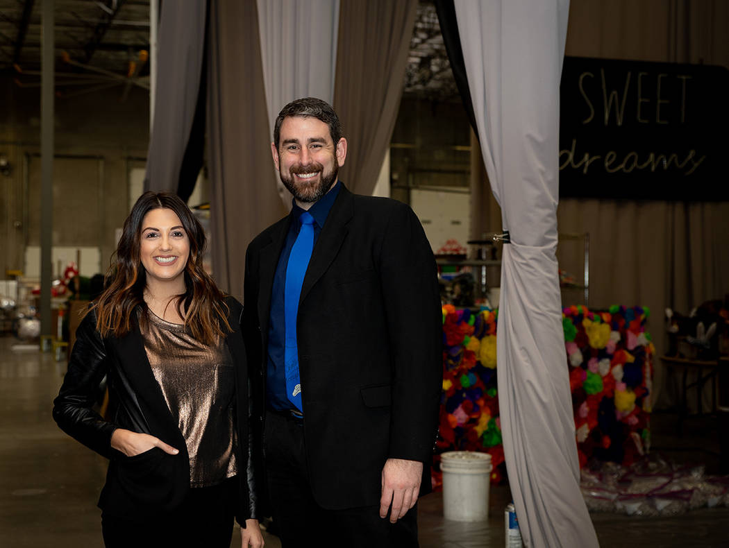 Destinations by Design owners Joyce Sherman Nelson and James Nelson built their business over the last 28 years. (Tonya Harvey Las Vegas Business Press)