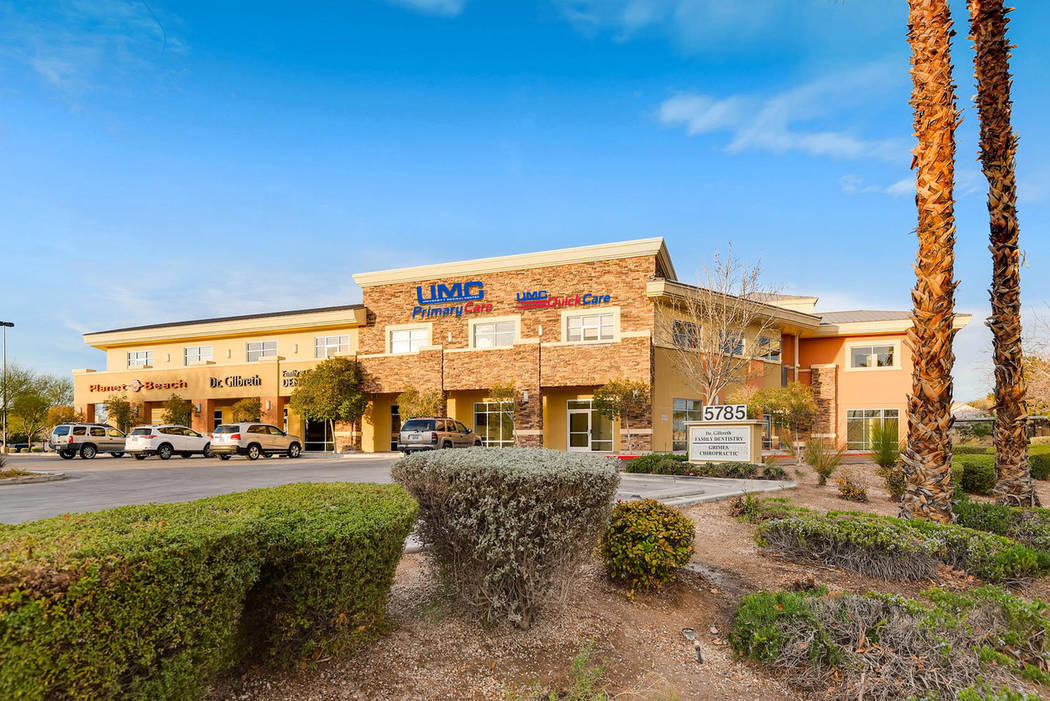 Centennial Gateway Office at 5785 Centennial Center Blvd. sold for $9,050,000 (Courtesy)