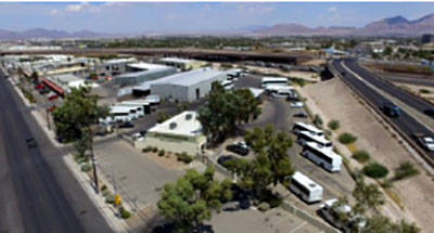 A 13,172-square-foot industrial property at 2420 Losee Road in North Las Vegas sold for $2,500,000. (Courtesy)
