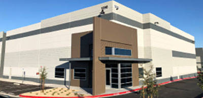 A 12,600-square-foot industrial property in AirParc South at 1590 Executive Airport Drive in Henderson sold for $2,004,000. (Courtesy)