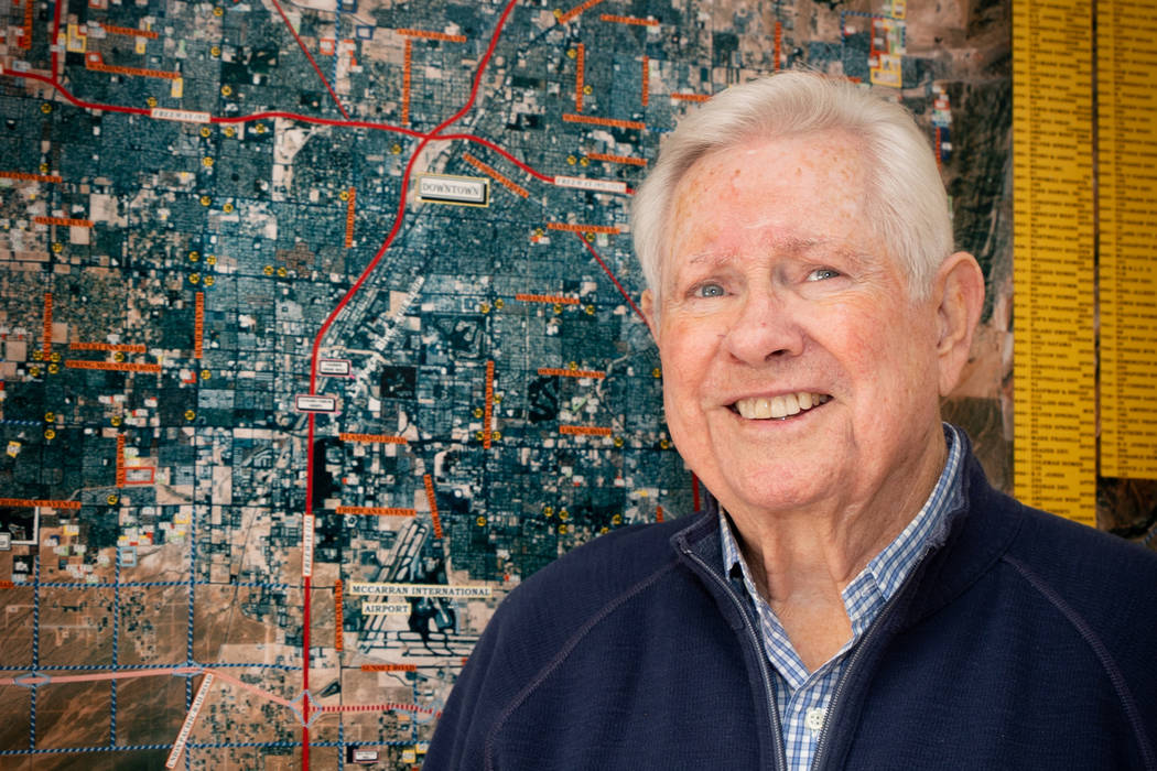 Longtime Realtor Ken Gragson. (Tonya Harvey Las Vegas Business Press)