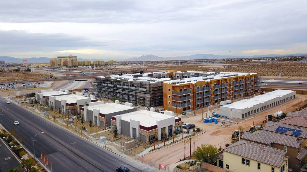 Courtesy Tru Development Co. The Kaktus Life I luxury apartment community is under construction in the Southern Highlands area. Developers are seeking silver LEED certification the project pegged ...