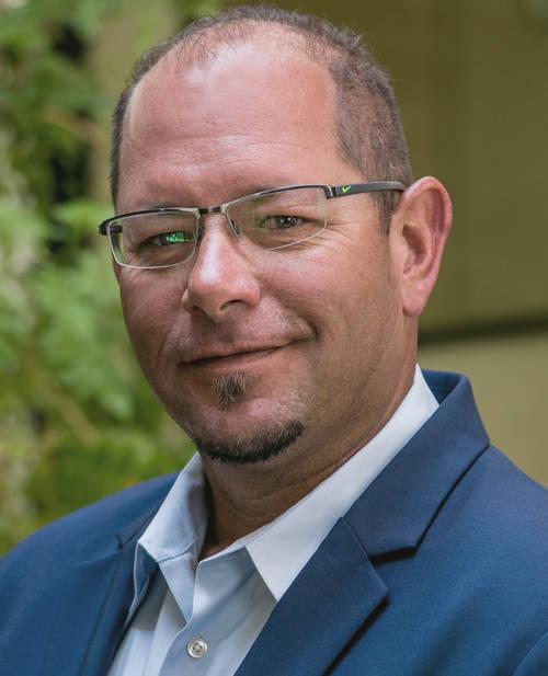 Todd Richardson, director of construction, Blue Heron