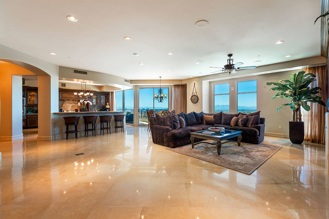 Unit 1603 in One Queensridge Place. (Ivan Sher Group)