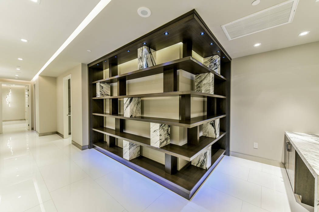 Unit 4307 in Panorama Tower, 4471 Dean Martin Drive, has a modern design. (Realty One Group)