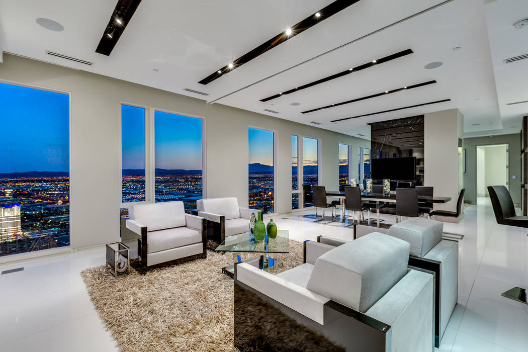 No. 5: Waldorf Astoria dominated the top 10 highest-priced high-rise condos for 2018. This unit was sold for $3.6 million. (Luxury Estates International)
