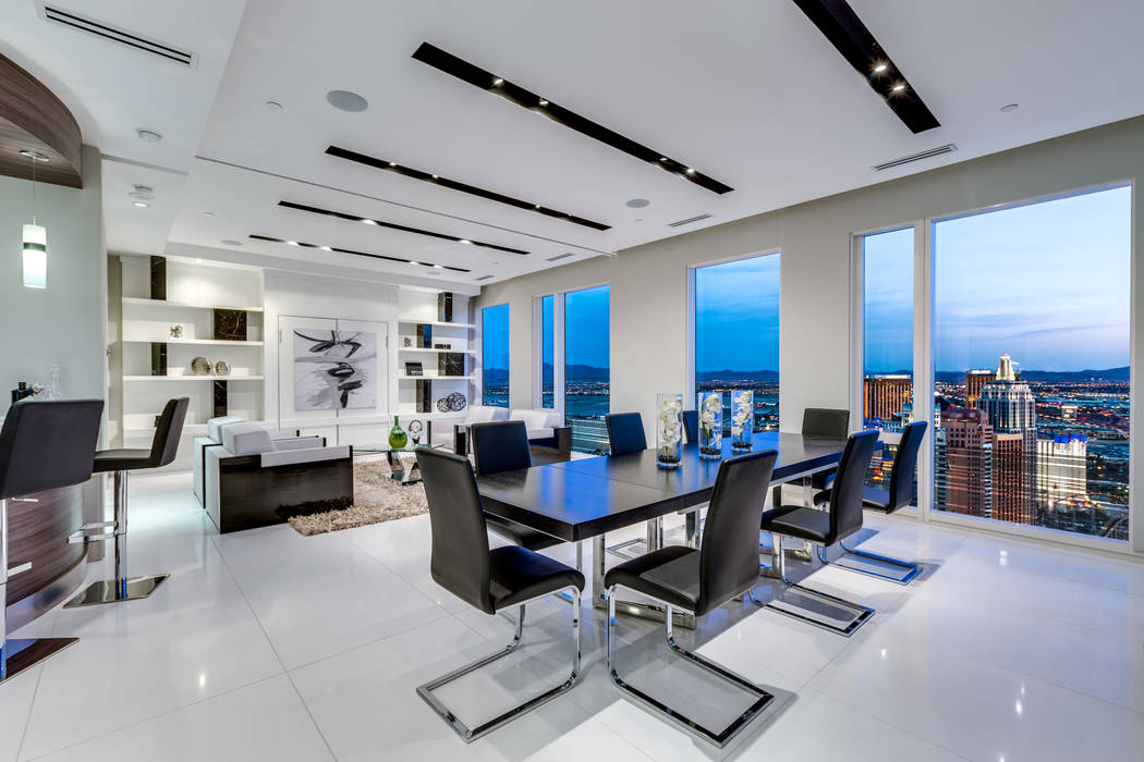 No. 5 on the list of highest-priced high-rise condos sold in 2018 was unit 4102 in the Waldorf Astoria. It sold for $3.6 million. (Luxury Estates International)