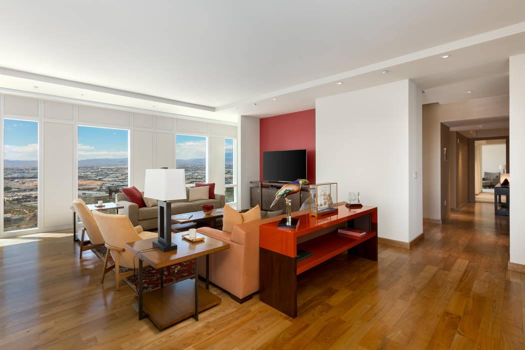 Unit 3604 in Waldorf Astoria sold for $3 million.( Luxury Estates International)
