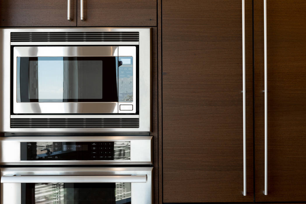 The kitchen in unit 3604 in Waldorf Astoria has all the extras. (Luxury Estates International)
