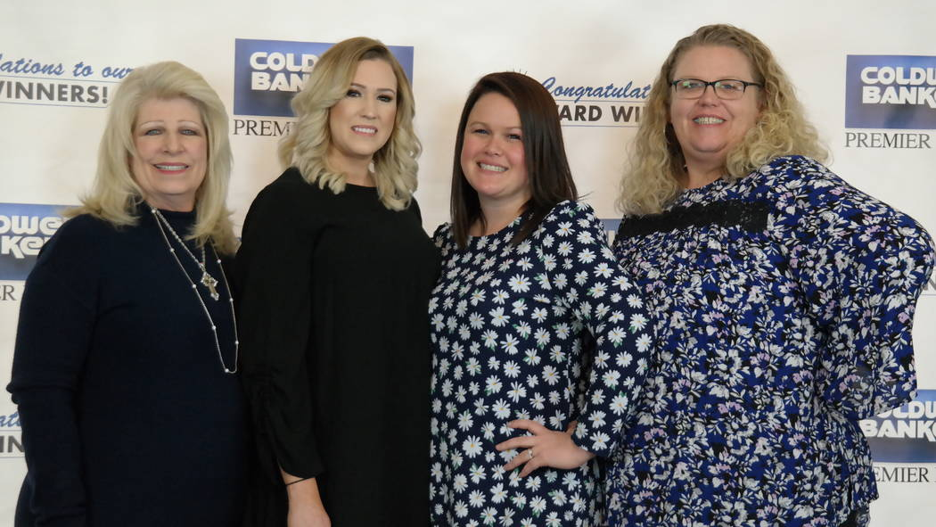 Coldwell Banker Premier Realty's Corporate Services Department was named a Cartus Masters Cup semi-finalist. It also earned a Cartus Platinum Award. (Elaina Hunley/Coldwell Banker Premier Realty)