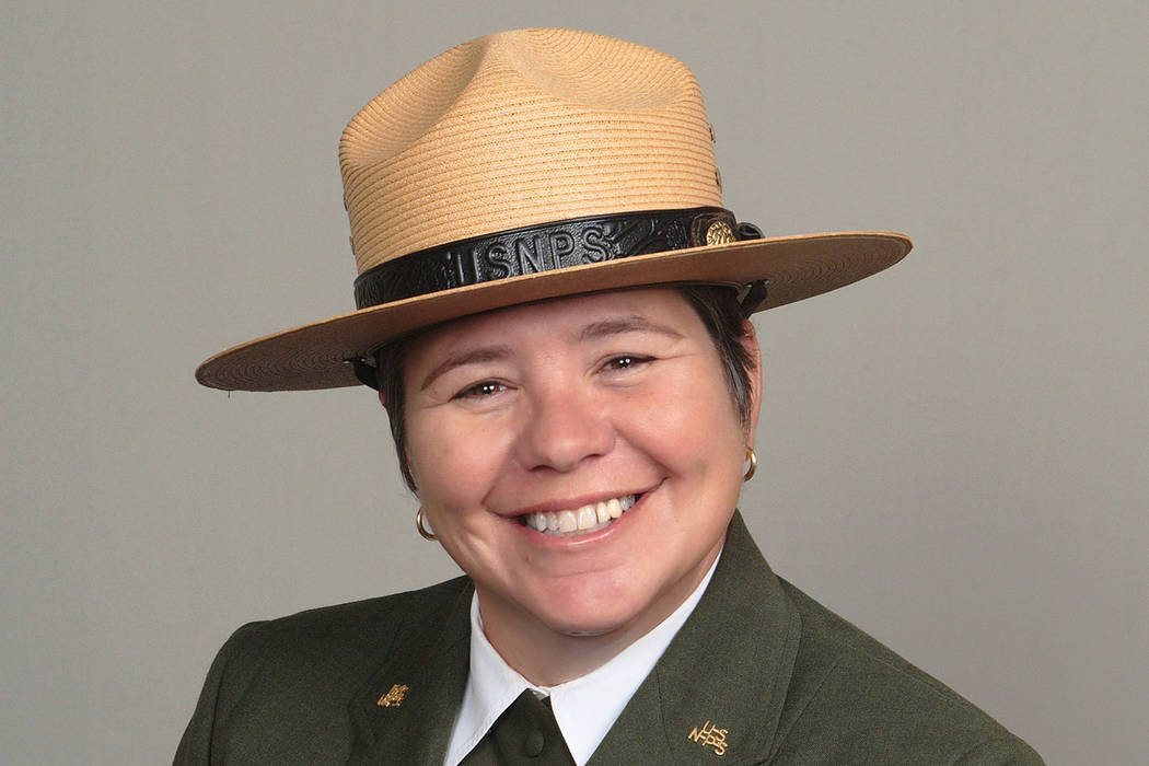 Margaret L. Goodro, superintendent of Lake Mead National Recreation Area