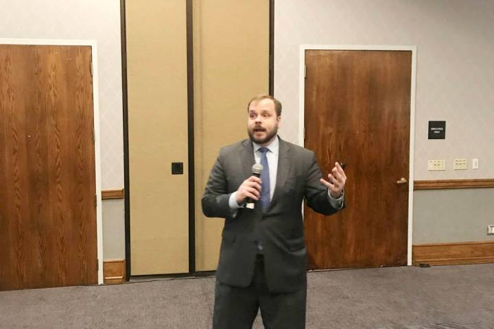 Leonard Kiefer, a deputy chief economist with Federal Home Mortgage Corp., served as the keynote speaker at an affordable lending seminar hosted by Guild Mortgage on March 5.