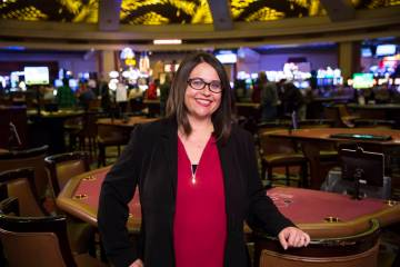 Michelle Bacigalupi, vice president and general manager of JW Marriot/Rampart Casino
