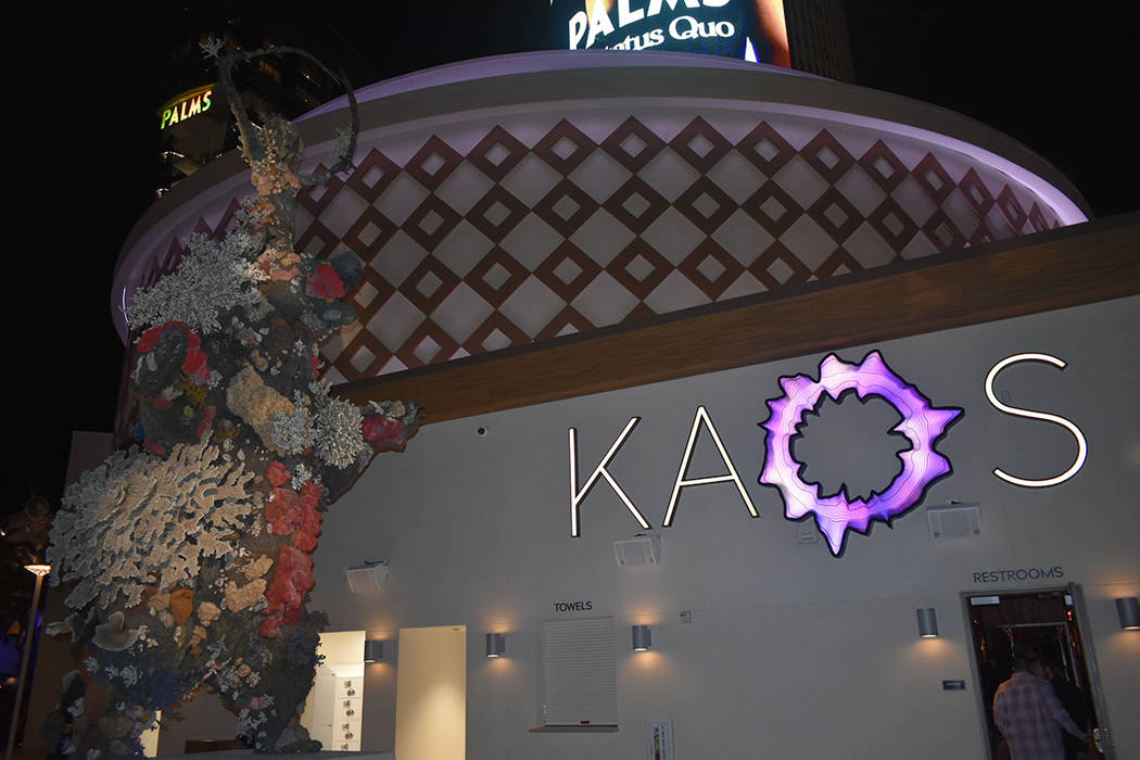 The Kaos, the new dayclub and nightclub at The Palms opened on April 5. (Frank Alejandre / El T ...