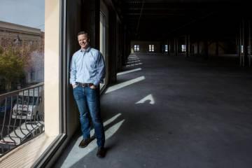 Eric Entringer, vice president of capital markets and investor relationsfor Dornin Investment ...