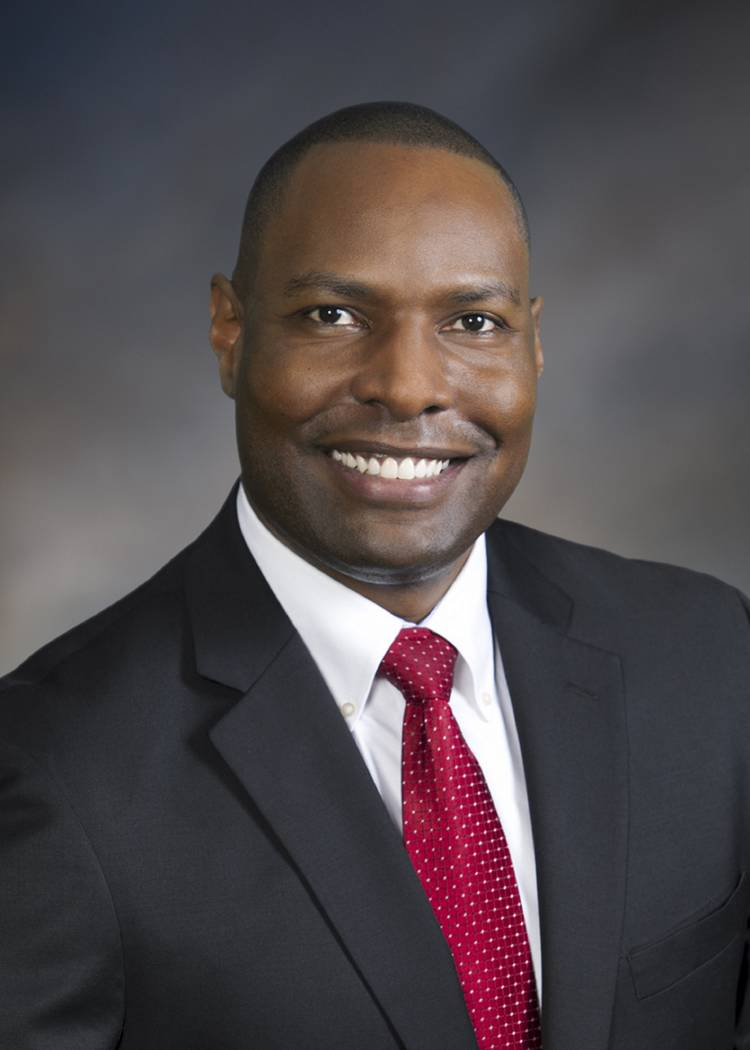 Terrence Thornton, Special Olympics Nevada executive director