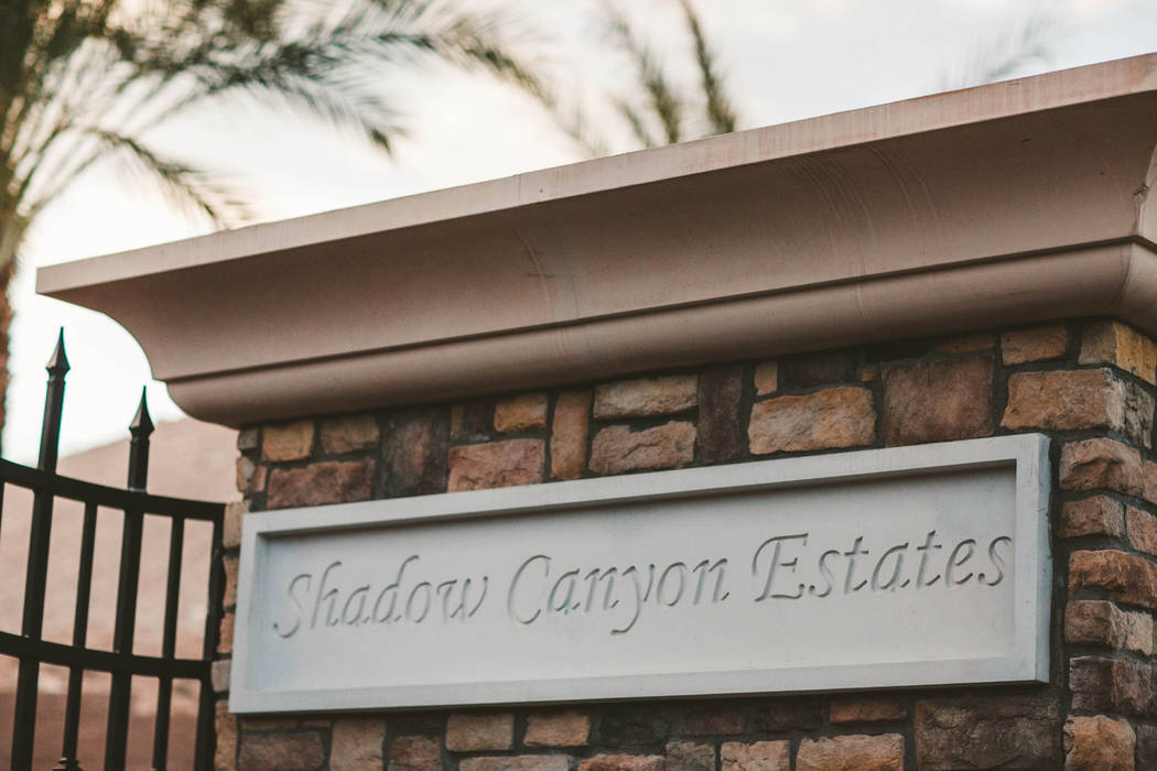 Ten luxury homes are being designed and built to these standards at Shadow Canyon Estates, with ...