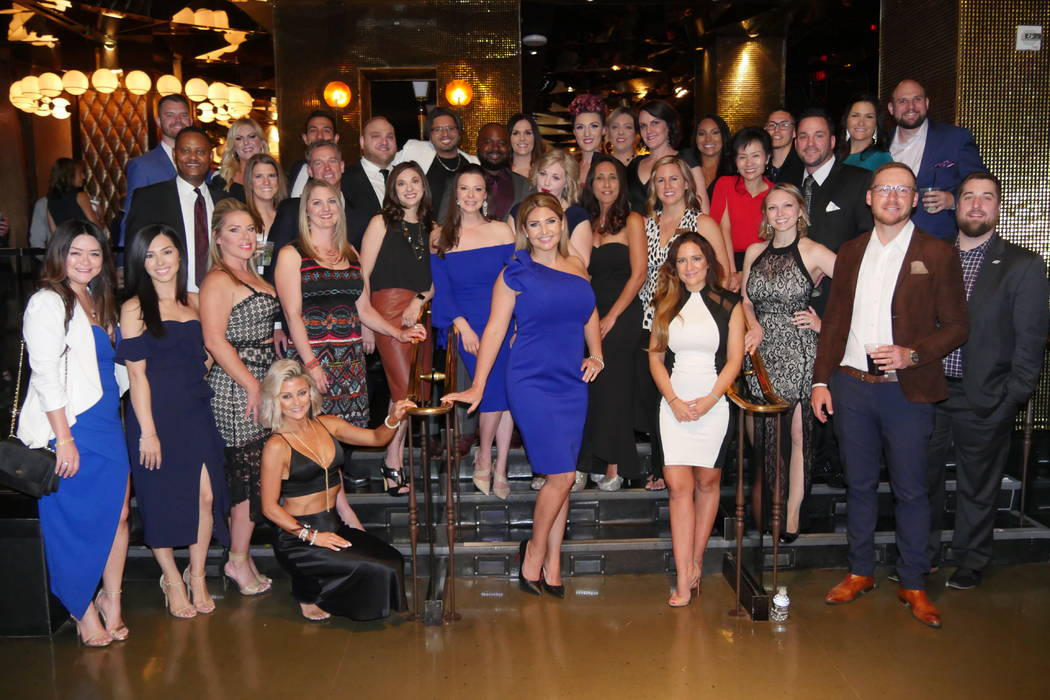 GLVAR and its Young Professionals Network honored their top local Realtors under age 40 at a Ma ...