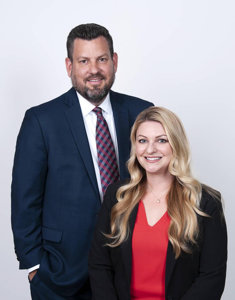 Lauren Tabeek and Michael Zobrist, Newmark Knight Frank