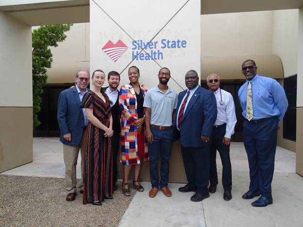 Silver State Health board members gather to celebrate a second location. (Silver State Health)