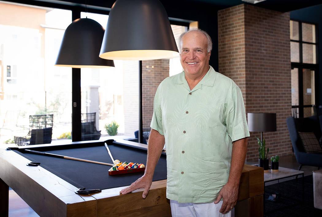 Craig Johnson, co-founder and managing partner of Union Village. (Tonya Harvey Las Vegas Busine ...