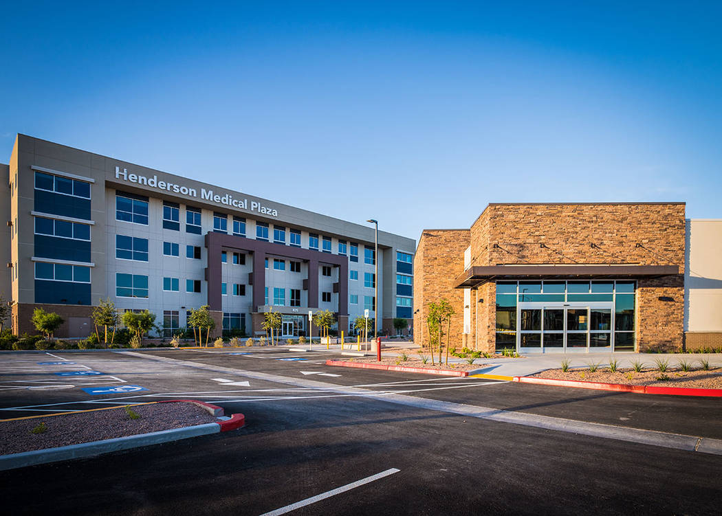 The Henderson Medical Plaza is part of Union Village. (Tonya Harvey Las Vegas Business Press)