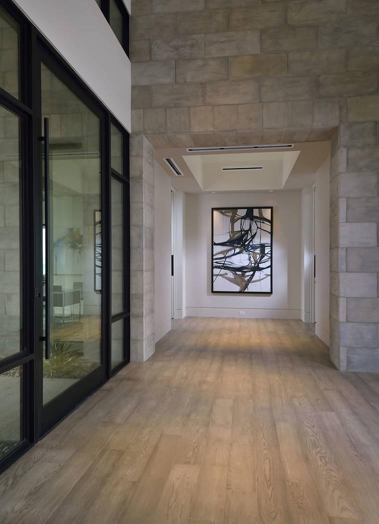 The home's foyer. (Bill Hughes Las Vegas Business Press)