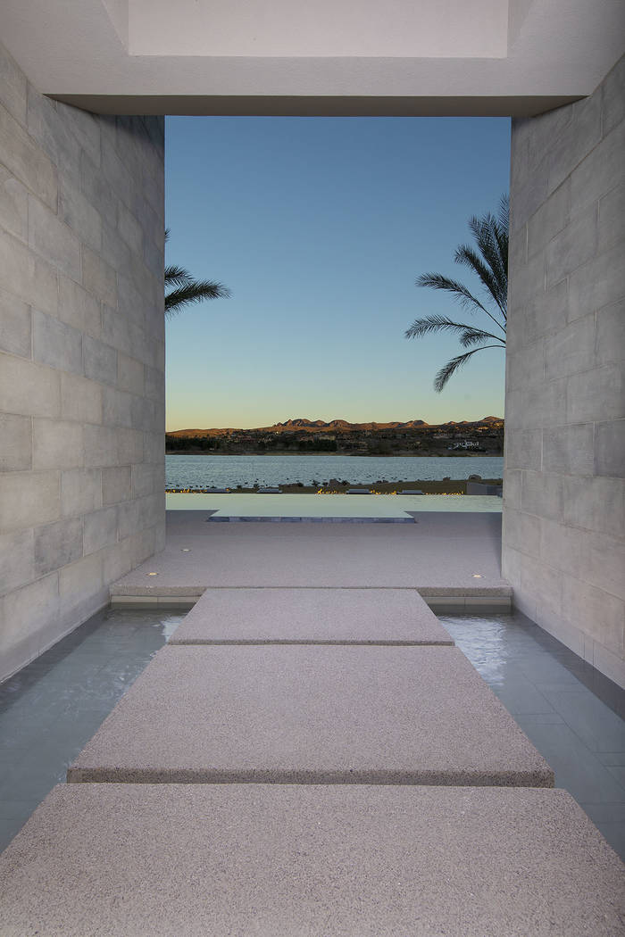 Lake views from a water feature. (Synergy/Sotheby's International Realty)