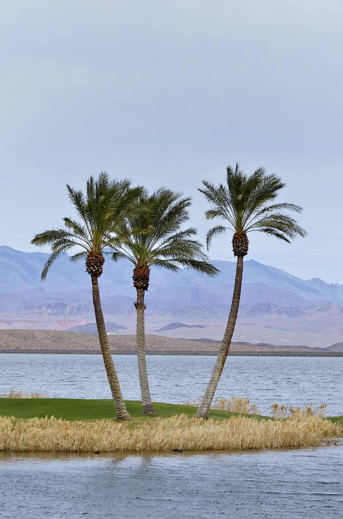Reflection Bay at Lake Las Vegas in Henderson. (Bill Hughes Las Vegas Business Press)