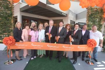 From left, Nevada Secretary of State Barbara Cegavske; Las Vegas City Councilwoman Lois Tarkani ...